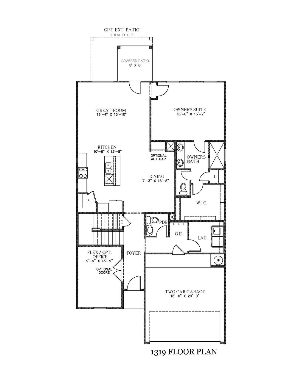 Azure New Home Floor Plan In Texas View Homes