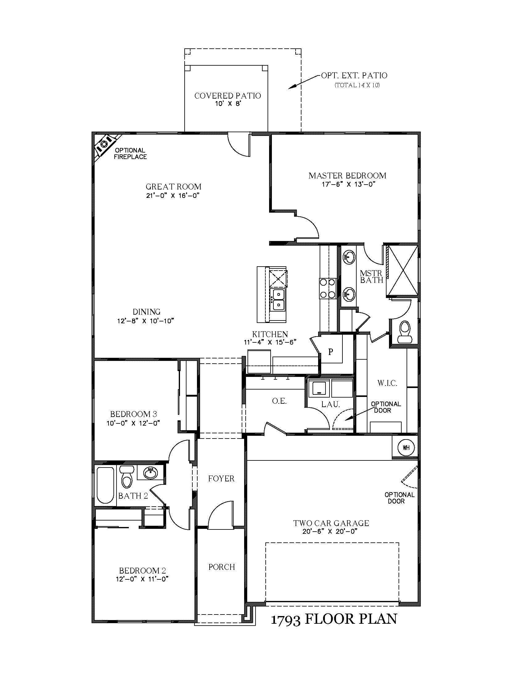 Cypress New Home Floor Plan In Texas View Homes