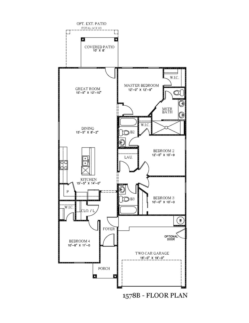 Sarah New Home Floor Plan In Texas View Homes