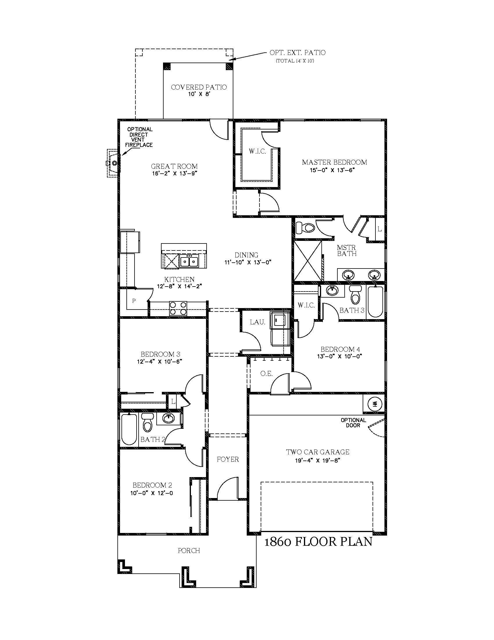 Scottsdale New Home Floor Plan In Texas View Homes